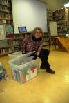 Heidemarie Bächreiner-Vogt, LAG-Vorstandsmitglied und Betreuerin des Bücherkistenprojekts