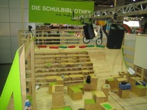 Der Schulbibliotheksstand auf der Leipziger Buchmesse 2010