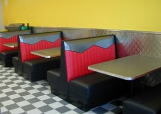 Diner-Abteil