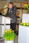 LAG-Vorsitzender Hans Günther Brée begrüßt