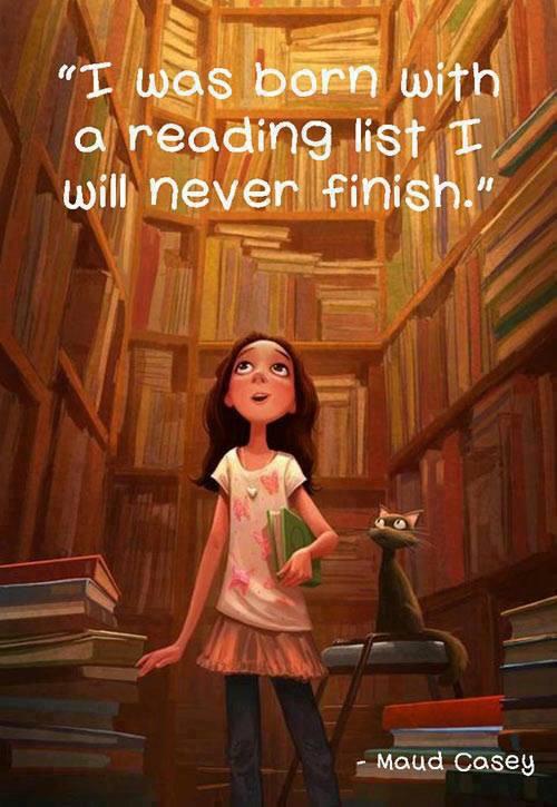 Reading =)